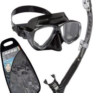 Cressi Marea Alpha Dry Mask Snorkel Set