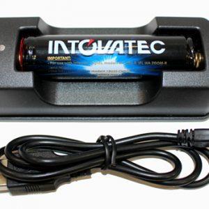Intovatec Li-Ion Battery & USB Charger