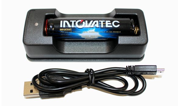 Intovatec Li-Ion Battery & USB Charger